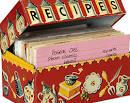 Recipe for disaster, recipe box