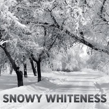 snowy-whiteness